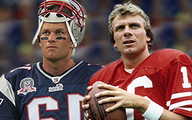 Why Tom Brady does not match up to Joe Montana as greatest QB ever