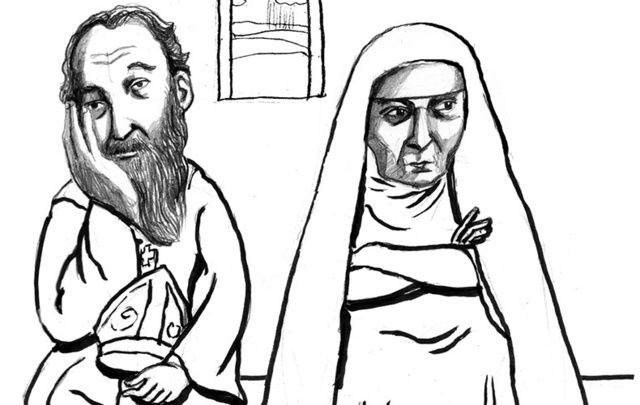 When Saint Patrick met Saint Brigid.