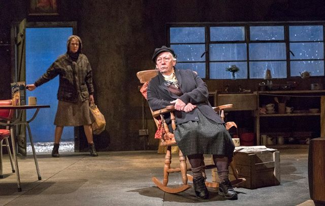 Aisling O'Sullivan and Marie Mullen in The Beauty Queen of Leenane at BAM.