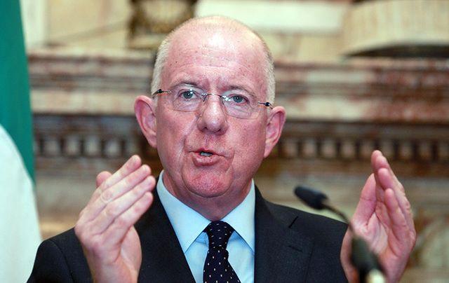 Irish Foreign Minister Charlie Flanagan.