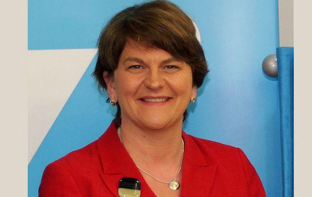 Northern Ireland leader Arlene Foster.