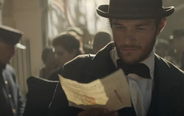 A scene from Budweiser's Super Bowl ad.