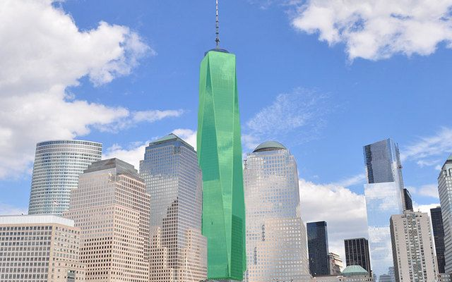 One World Trade Center in New York is set to go green for the Global Greening 2017, for St. Patrick's Day.
