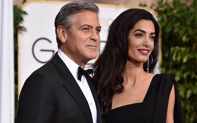 Irish American actor George Clooney and Lebanese-British human rights lawyer Amal Clooney are expecting twins in June.