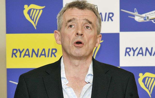 Ryanair boss Michael O'Leary has said the US leader could be very good for the US and the world economy.