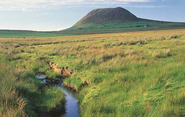 "Absolutely magical! ""The iconic Slemish mountain, a crucial element in our patron Saint's story."""