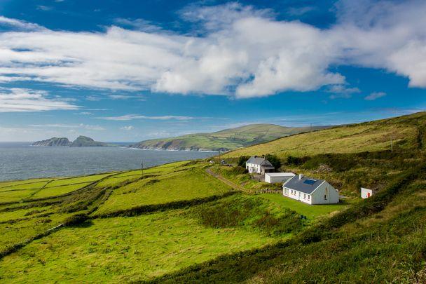 House overlooking Ireland's coastal views