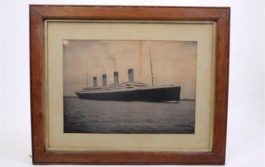 105 years after the ill fated ship sank, the Titanic still has a grip on the popular imagination like few other events, with auction items getting high bids.
