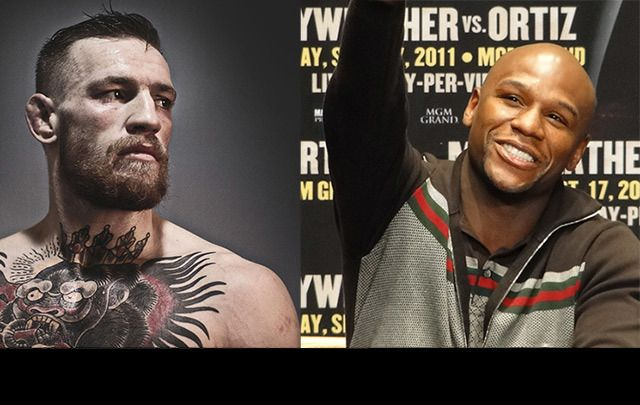 Will the Irish MMA star Conor McGregor put on the gloves to face boxing great Floyd Mayweather?