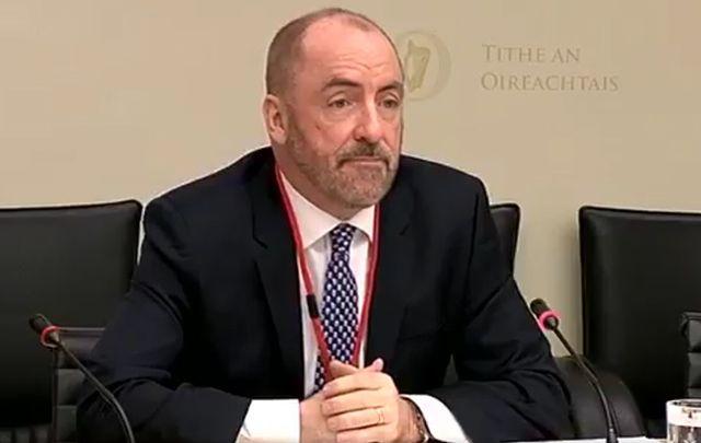 Chairman of the US-based Irish Lobby for Immigration Reform, Ciaran Staunton.