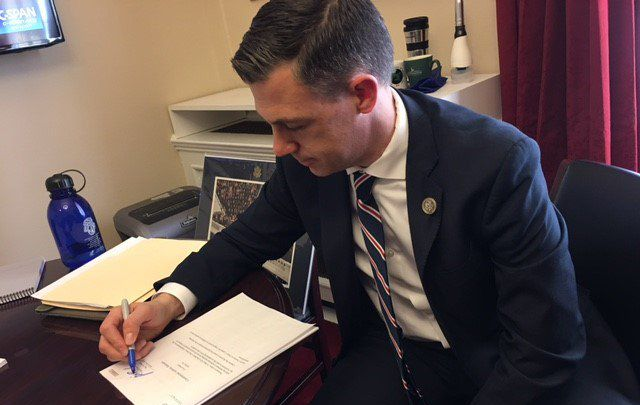 Congressman Jim Banks has introduced the Visa Investigation and Social Media Act of 2017 which would make a currently optional part of the application compulsory.