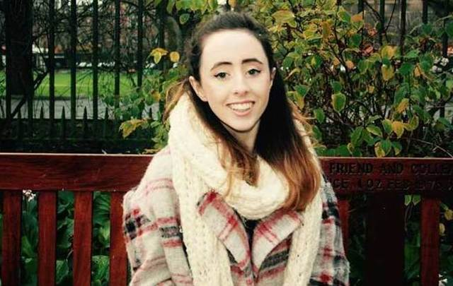Trinity College student Niamh Herbert.