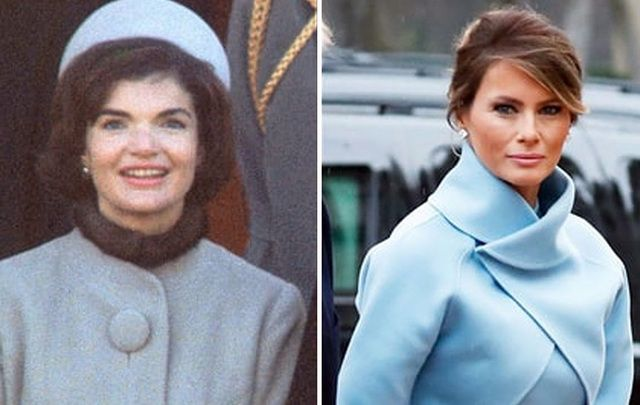 First Lady fashion style off! Jackie Kennedy V Melania Trump.