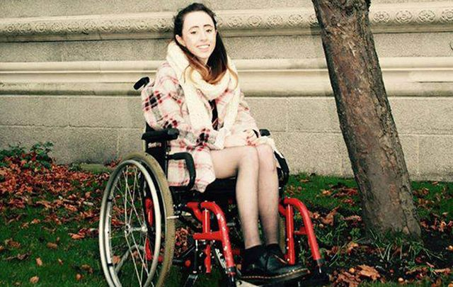 Trinity College student Niamh Herbert, a wheelchair user, was left crying at the gate by Ryanair staff after being told there was not enough time to help her to board the flight.