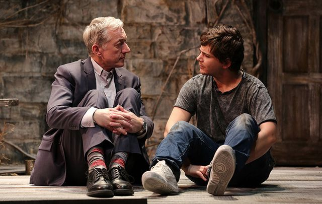 Sean Gormley and Rupert Simonian star in Jonah and Otto.