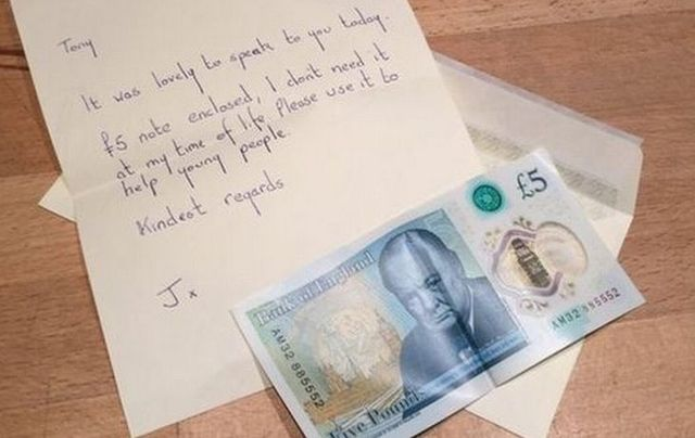 It was a stunning act of generosity. A woman from Enniskillen in County Fermanagh has donated a rare and highly valuable banknote to charity.