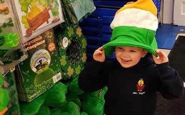 Ceejay McArdle, a 4-year-old leukemia patient from Ireland, will march in NYC's St Patrick's Day parade.