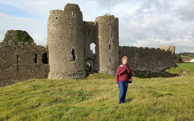 Louise at Castle Roche