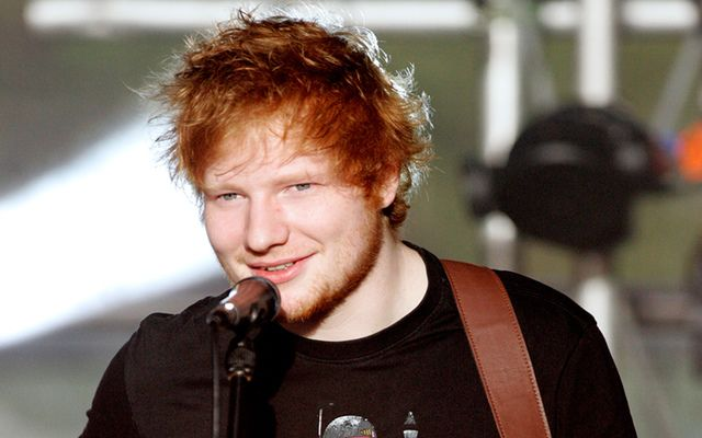 A meet and greet with Ed Sheeran is now up for grabs in an online auction with the London Irish Center.