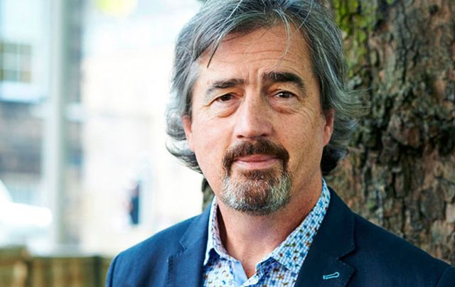 Irish award-winning author Sebastian Barry.