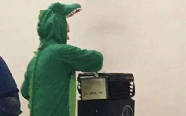 Crocodile voting in Northern Ireland.