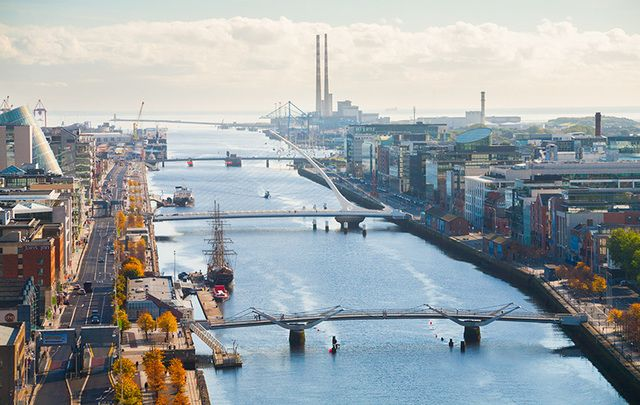 Dublin City Center: Have you ever dreamed of working in Ireland?