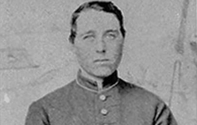 Albert D.J. Cashiers, aka Jennie Hodgers, in his Civil War uniform.