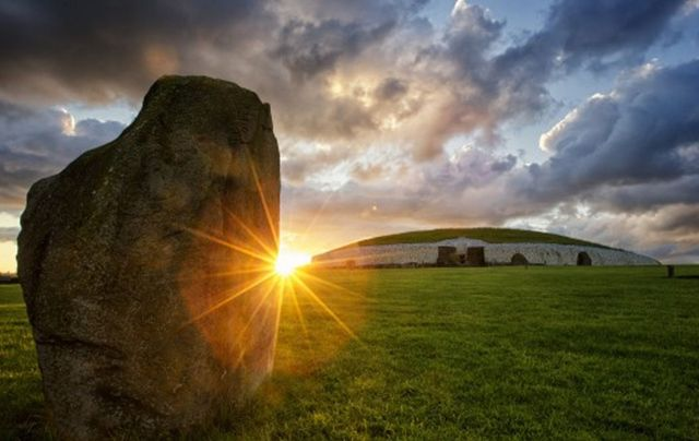 A jewel in Ireland\'s Ancient East trail, the tomb of Newgrange, in County Meath.