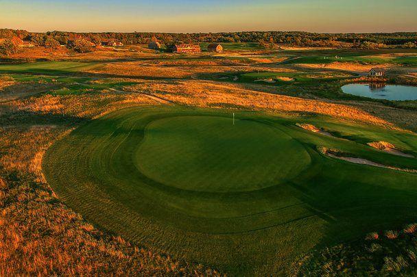 Erin Hills Golf Course in Erin, Wisconsin