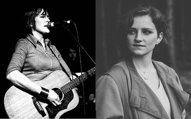 Cat Dowling and Hannah McPhillimy will perform at the Irish Arts Center on March 9.