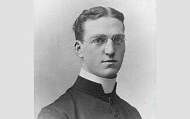 Irish born Monsignor Edward Flanagan went on to found Boys Town in the US.