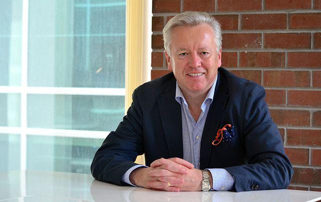 President and CEO of FleishmanHillard John Saunders.