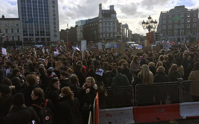 The Strike4Repeal marches took over Dublin's O'Connell Bridge. You wouldn't have thought so from the coverage on RTE.