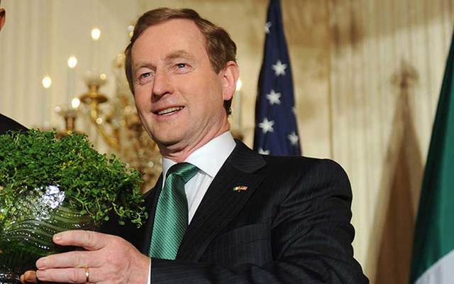 Irish Taoiseach Enda Kenny has said he will address the issue of undocumented Irish living in the U.S. when he meets with President Trump on Thursday.