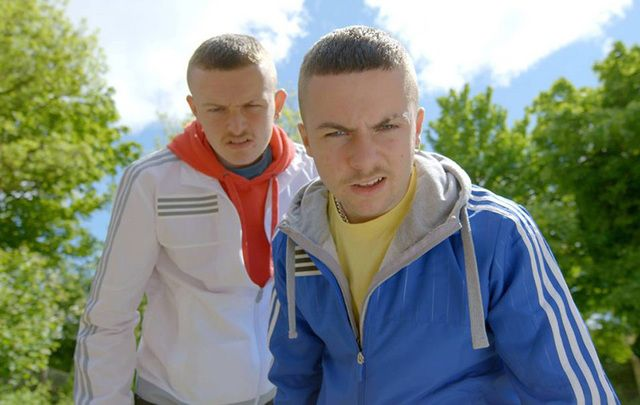 Chris Wallace and Alex Murphy in The Young Offenders.