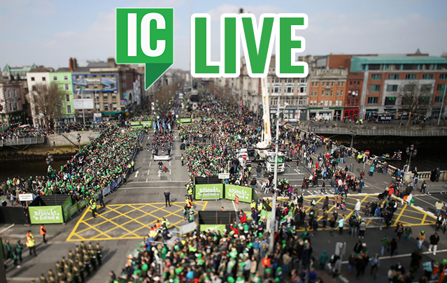 Drop in on the St. Patrick's Day parade in Dublin with IrishCentral!