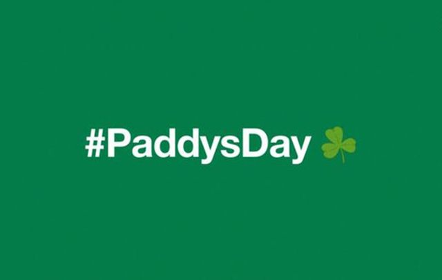 Twitter is going green for St. Patrick\'s Day.