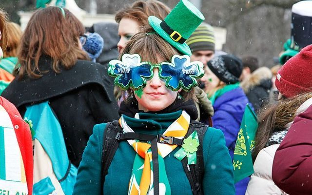 Why was March 17 chosen as the day to celebrate St. Patrick and Ireland?
