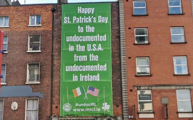 The message from Ireland's undocumented to the undocumented in the US