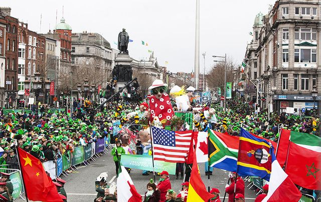 Dublin's St. Patrick's Day Parade 2017.
