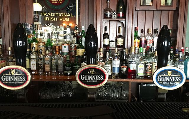 There are other pubs in the State of Israel, which are Irish in style, and certainly in name. But when it comes to authenticity, Molly Bloom's is as close to a genuine Dublin pub as you can get.