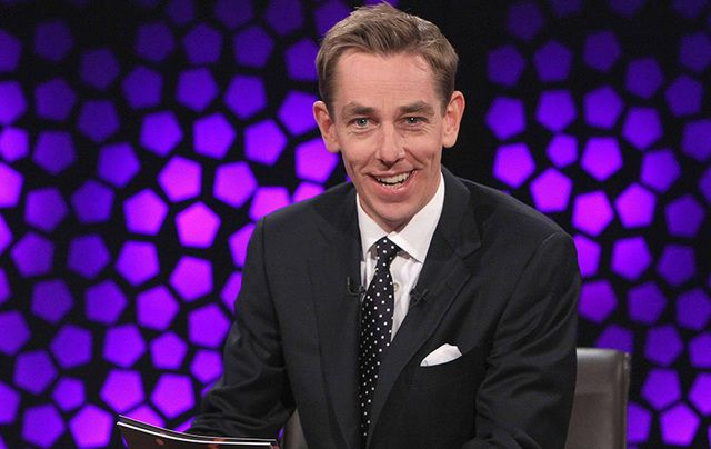 Late Late Show host Ryan Tubridy.