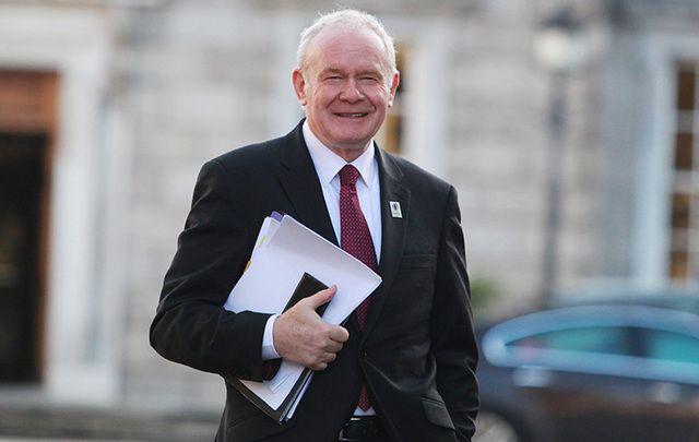 Sinn Fein Martin McGuinness has passed away, aged 66, after a short illness.