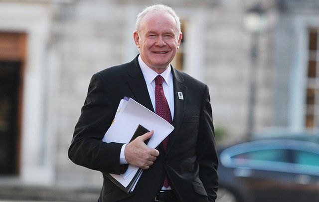 Sinn Fein Martin McGuinness has passed away, aged 66, after a short illness.