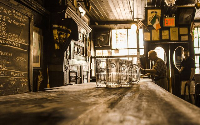 Why even leave your house when you can recreate an Irish pub within your own home?