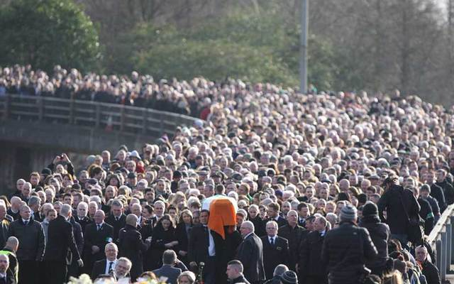 Funeral of Martin McGuinness.