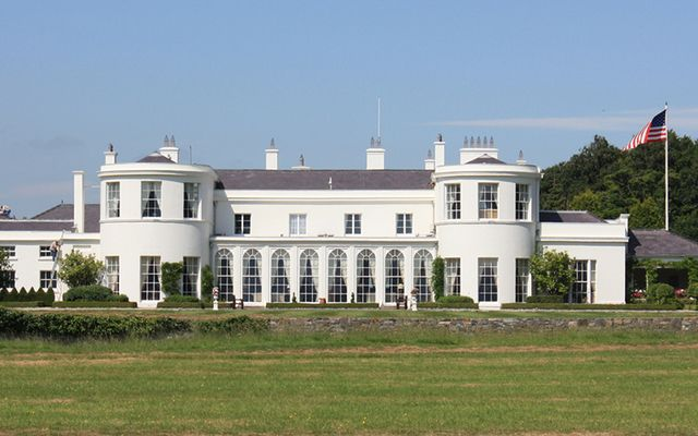 Deerfield, the residence of the US Ambassador to Ireland, located in Dublin\'s Phoenix Park.