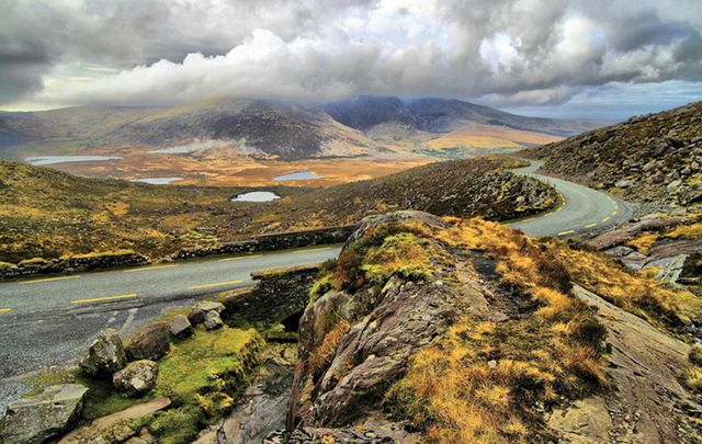 A view from Moll\'s Gap, in County Kerry.