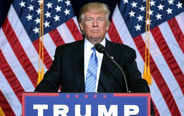 Wow! Mr President, Donald Trump.