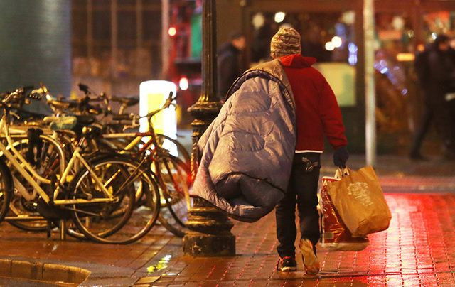 Homelessness is rife in Ireland.